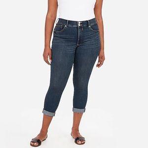 Express Cropped Legging High Rise Denim Perfect 16
